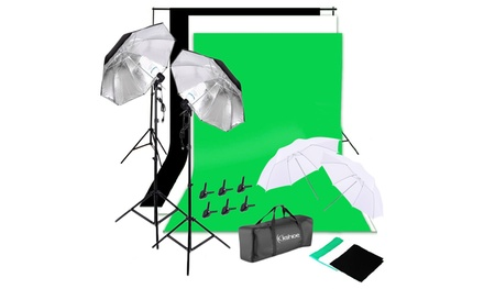 135W Photo Photography Umbrellas Non-woven Lighting Bulb Backdrop Stand Was: $150.99 Now: $68.99.