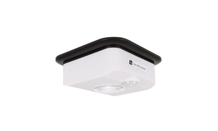 Up to 60 off on motion sensor ceiling light groupon goods groupon goods motion sensor ceiling light battery powered indoor led light by lavish aloadofball Gallery