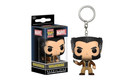 Funko Marvel X-men Logan Wolverine Pocket POP Keychain Action Figure Superhero 7830443c-9930-4b04-9be5-3b35e7af6861
