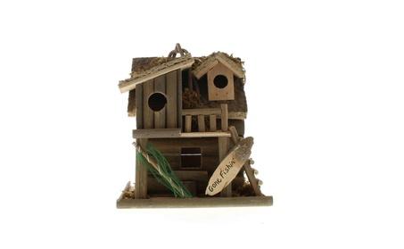 Fishing Cabin Bird House (Goods Outdoor Décor Bird Feeders & Baths) photo