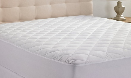Home Expressions Quilted Hypoallergenic Mattress Pad