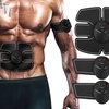 Portable AB Machine Abdominal Toning Belt Muscle Toner EMS Training ABS Trainer