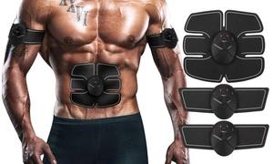 Portable AB Machine Abdominal Toning Belt Muscle Toner EMS Training ABS Trainer
