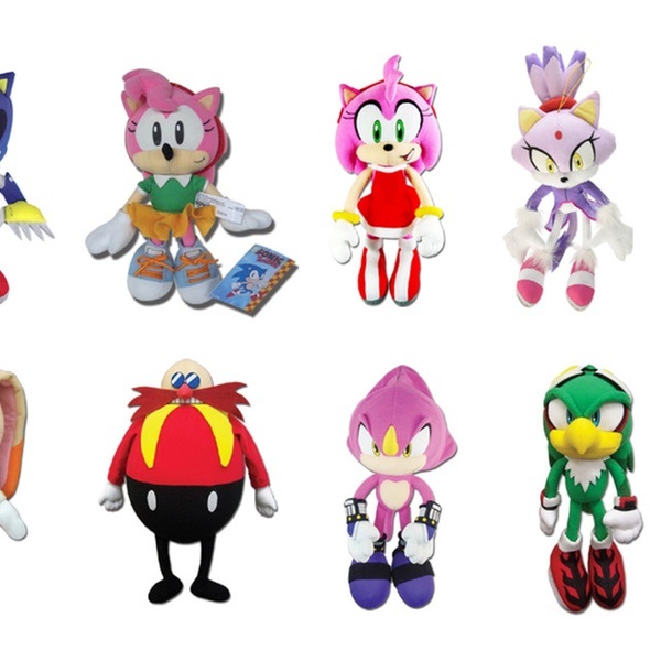 Ships Next Day Ge Great Eastern Sonic The Hedgehog 14 Blaze The Cat Plush Doll