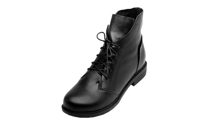 Women's Leather Casual Fashion Boots