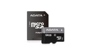 Class 10 MicroSDHC Memory Card with 1 Adapter (16GB, 32GB, 64GB)