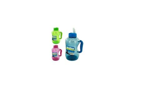 Water Bottle with Flip Straw 3f5c62ed-5e0f-4fe8-811a-3b936841dc20