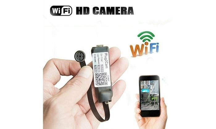 Wireless Spy WIFI IP Nanny Cam Mini Micro DV DVR Pinhole DIY Hidden Video Camera