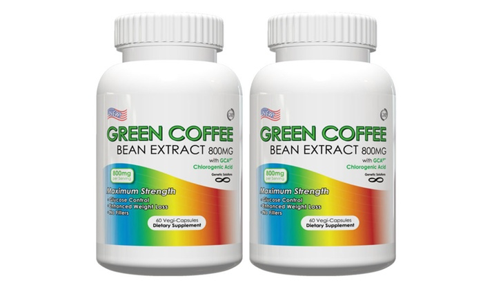Buy It Now : 2 bottles Green Coffee Bean ExtractWeight Loss with Free Waist Trimmer