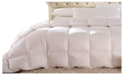 image placeholder image for royal striped white down comforter oversized all season fill weight - Down Blankets