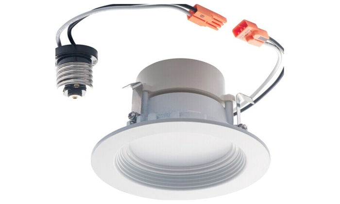Triangle Bulbs Retrofit Downlight Kit, Dimmable LED Downlight 4″ Fit