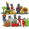 16pcs Plants vs Zombies Model Toy PVZ Collection Figures Toy Gift