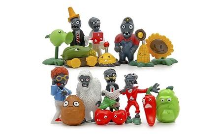 Plants vs Zombies Model Toy 16pcs PVC Action Figures Toy Gift 0e2459b0-ab54-4b9f-b634-409e3fd66ec3