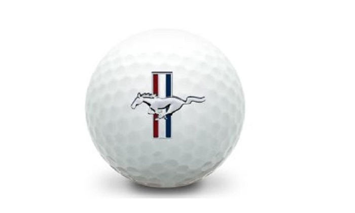 Recycled Titleist Pro V1 Mustang Used Mint Golf Balls (36-Pack)