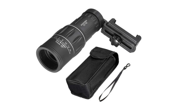 Hd optical dual focus monocular day night vision hiking