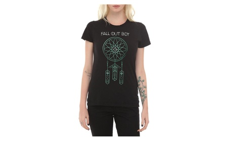 Fall Out Boy Dreamcatcher Girls T-Shirt d1c4eae1-959e-486c-a3bc-8a3285a82db8