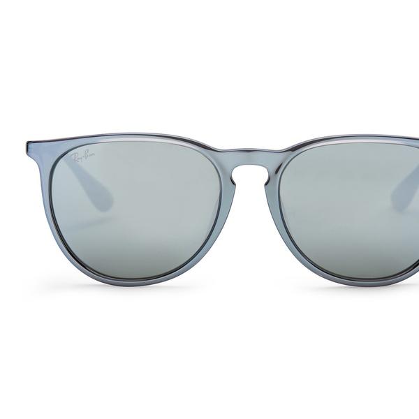 82784d381 Ray-Ban Erika Color Mix Sunglasses (Gray and Silver/Silver Mirror) | Groupon