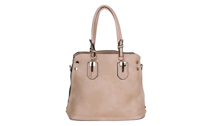 'Adele' Shoulder Bag in Beige