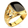 Yellow Gold Vintage Rings for Men
