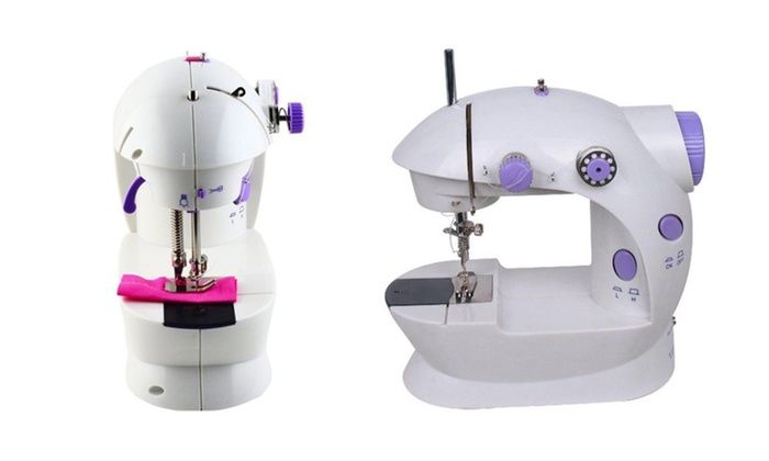 Up To 40% Off On New Handheld Sewing Machine C Groupon Goods Interesting New Sewing Machine