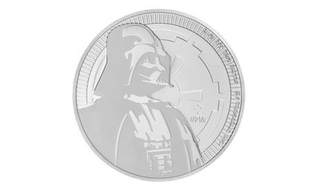 2017 1 oz Silver Star Wars Darth Vader 2 Dollar Coin GEM BU a861a1e2-44b6-422f-9990-48393e27cc41