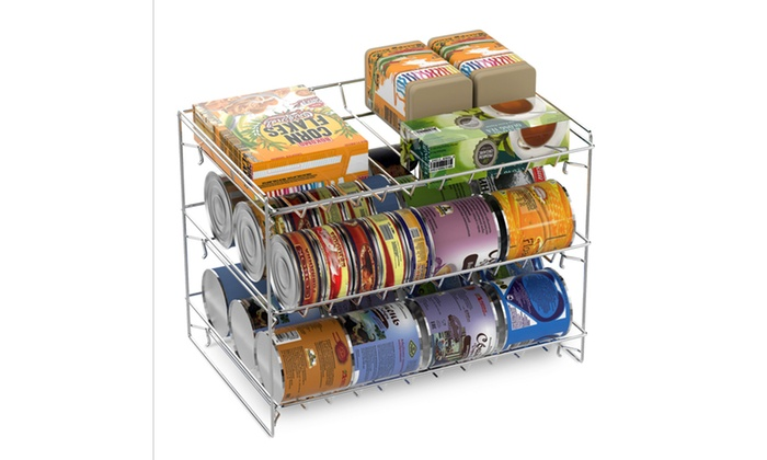 3 Tier Stackable Can Organizer Groupon
