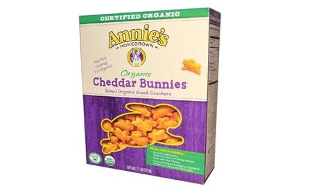 Annie's Homegrown - Cheddar Bunnies Cracker Snacks ( 12 - 11 OZ) 9b533d73-a5b0-4316-9144-107e7bd0c545