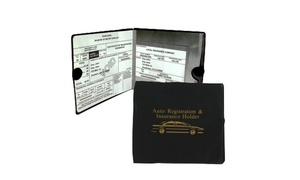 Car Insurance, Registration, and Document Holders (2-Pack)
