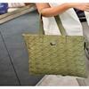 Women Totes Shoulder Bag PU Leather Knitting