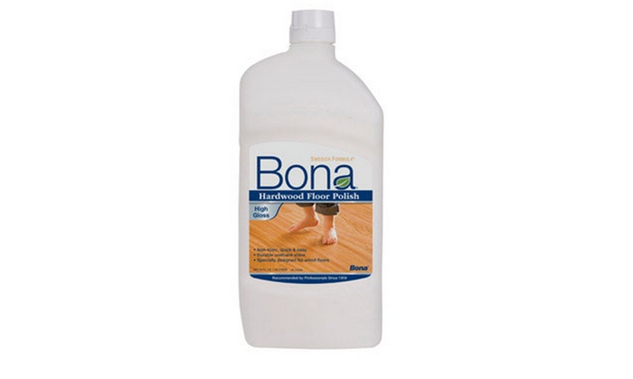 Bona Wp510059001 Hardwood Floor Polish High Gloss 36 Oz Groupon