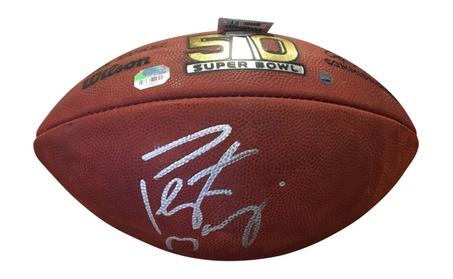 Autographed Peyton Manning Denver Broncos Official Super Bowl Football 3229da62-8bca-4edd-9d8c-217de0074707