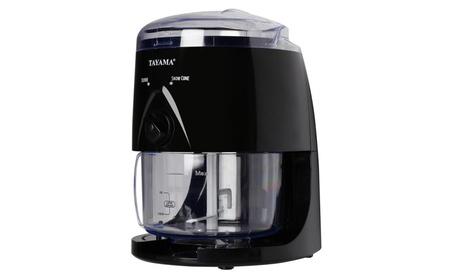 Tayama TB-200 Electric Ice Shaver, Black c2e7ff21-5cda-4a7d-862d-eec4049fc3de