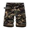 Men's Cotton Plus Size Durable Casual Cargo Shorts