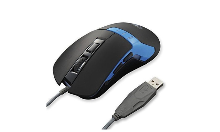 SADES Q9 USB Gaming Mouse Wired PC Game Computer 3200 DPI Mice 6 Buttons Gamer