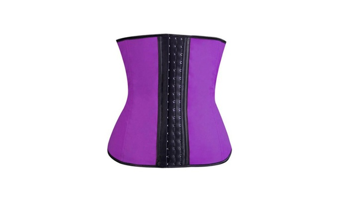 Hot Under Bust Corset Slimming Body Latex Vest