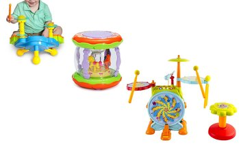 Kid's Toy Drum Set