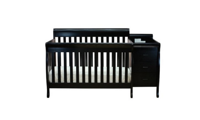 Athena Kimberly 3 In 1 Convertible Crib And Changer Combo Groupon