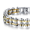 316L Stainless Steel Classical Bicycle Heavy Metal Chain Bracelet