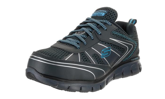 bde0459bcb02 Skechers Women s Synergy - Algonac - Wide Fit Work Shoe