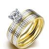 Leopard Design Crystal Ring