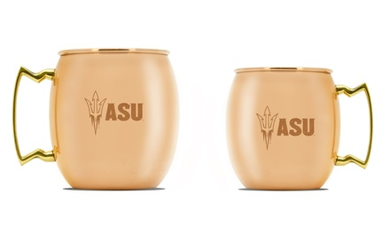 NCAA Copper Moscow Mule Mug 16 Oz. or 24 Oz.