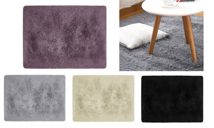 Soft Fur Area Rugs Floor Mat Luxury Beside Carpet for Bedroom Living Room