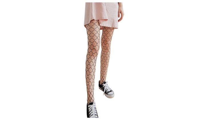 21795a56e93411 Tights Silk Pearl Sexy Transparent Fishnet   Groupon