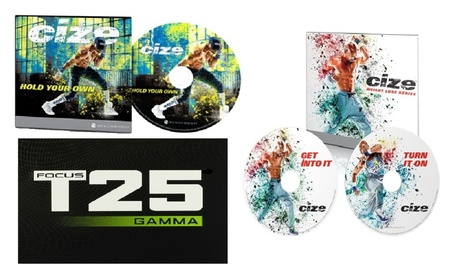 Focus T25 Gamma + Cize Weight Loss Series & Hold Your Own Fitness Dvds 8461bae5-605a-47bc-8cd0-f905c7b88c82