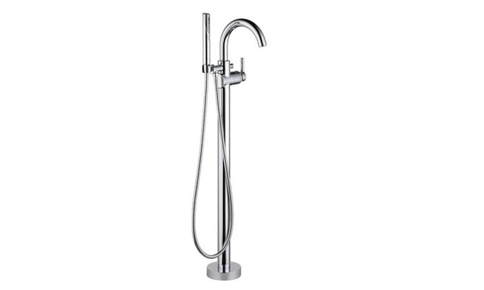 Delta Faucet T4759 Fl Trinsic Floor Mount Tub Filler