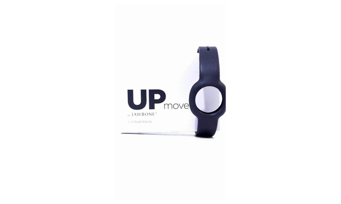 Jawbone UP Move Thick Strap Wristband for Activty Tracker Rubber Black