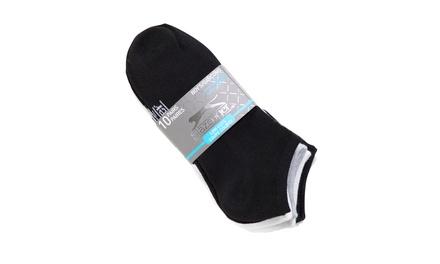 10-Pack Boys Slazenger Low Cut Cushioned Socks