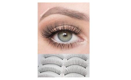 10 Pairs Natural Handmade Thick Long False Eyelashes 42cc58b4-74de-4b3a-be48-f24f71c82ae6