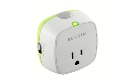 Belkin Conserve Socket Energy Saving Outlet with Timer, F7C009q photo