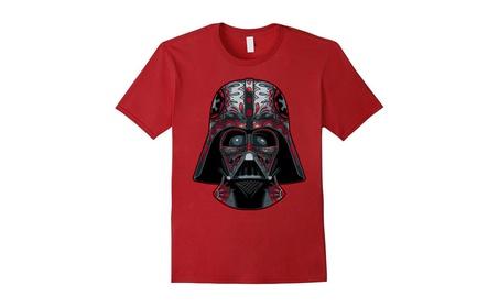 Darth Vader Helmet Markings Graphic T-Shirt 6256b446-0b82-4af6-a37a-9c10b1c6ad29